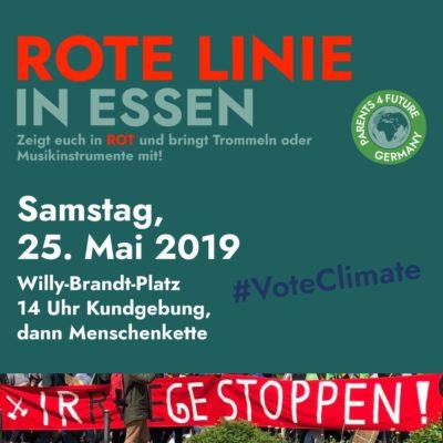 """Rote-Linie""- Demo am 25.05.2019"