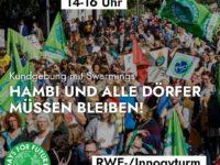 FfF Demo am 24. Januar 2020: Hambi bleibt!