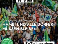 FfF Demo am 24. Januar 2020: Auch die Dörfer sollen bleiben!