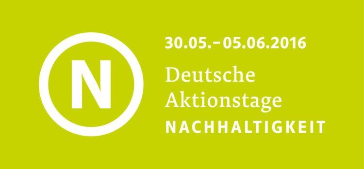 Logo der Deutschen Aktionswoche Nachhaltigkeit
