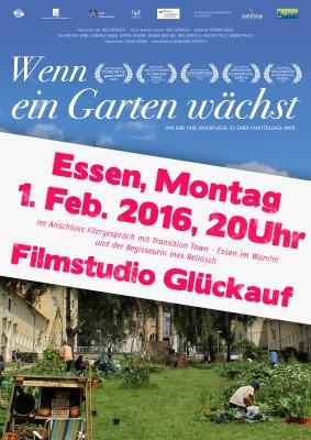 """""""Wenn ein Garten wächst"""" – Film und Gespräch mit Regisseurin Ines Reinisch"""