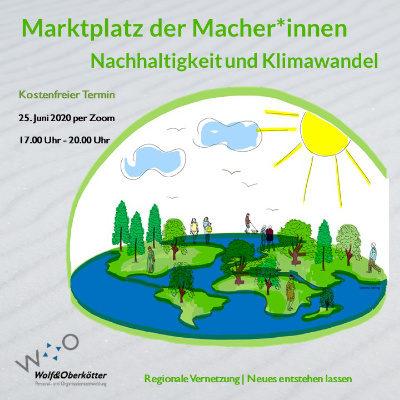 Martplatz der Macher*innen Nachhaltigkeit und Klimawandel